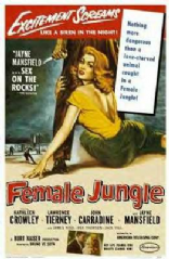 Female Jungle 1956 DVD - Lawrence Tierney / John Carradine